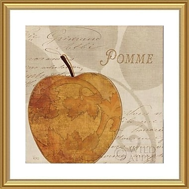 Printfinders 'Royal Fruit III' by Veronique Charron Framed Graphic Art