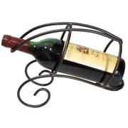 Metrotex Designs French Vineyard 1 Bottle Tabletop Wine Rack; Meteor