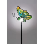 SunTime Outdoor Living Butterfly Garden Stake w/ Solar Powered LED
