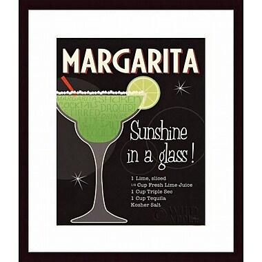 Printfinders 'Cocktail Hour I' by Pela Studio Framed Vintage Advertisement