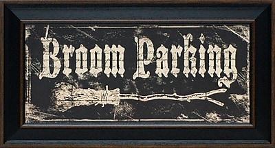 Artistic Reflections Broom Parking by Marrott, Stephanie Framed Textual Art