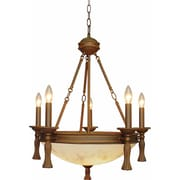 Volume Lighting Clifden 5-Light Candle-Style Chandelier