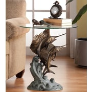 SPI Home Marlin and Sailfish End Table