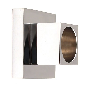 Alno Contemporary II Shower Bracket (Set of 2); Polished Chrome