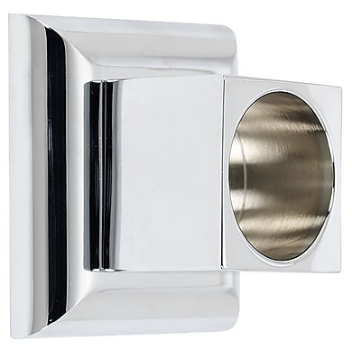 Alno Manhattan Shower Rod Brackets (Set of 2); Polished Chrome
