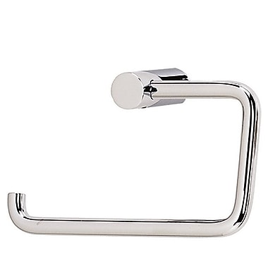 Alno SPA 1 Wall Mounted Single Post Toilet Paper Holder; Polished Nickel