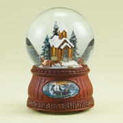 Roman, Inc. Musical Sleigh Ride Glittrdome