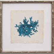 Mirror Image Home Mini Turquoise Coral III Framed Graphic Art