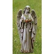 Roman, Inc. Angel Holding Nest Statue