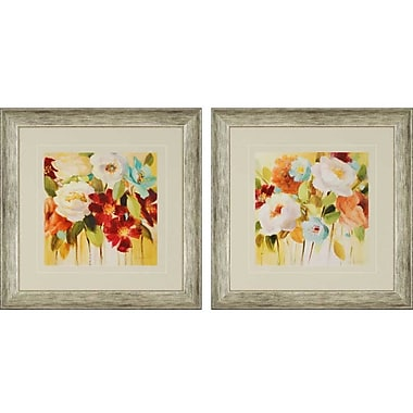Paragon Lockheed 12A Electra by Loreth 2 Piece Framed Painting Print Set (Set of 2)
