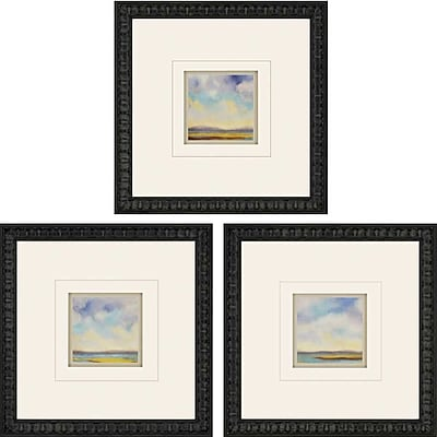 Paragon Tranquility by Nicoll 3 Piece Framed Painting Print Set (Set of 3)