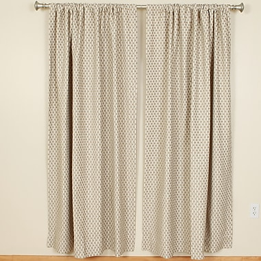 The Pillow Collection Rod Pocket Curtain Panels (Set of 2); 50'' W x 108'' L