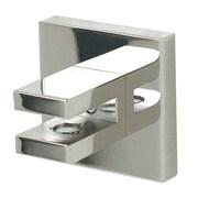 Alno Contemporary II Shelf Brackets Only; Polished Chrome