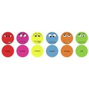 Kalokids Emotions English Kids Floor Cushion (Set of 6)