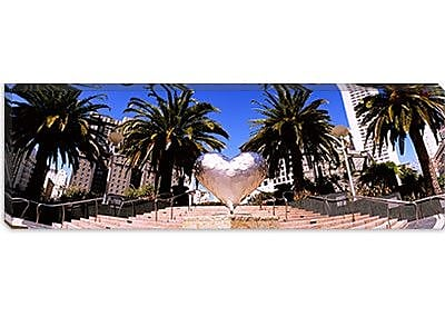 iCanvas Panoramic Union Square, San Francisco, California Photographic Print on Canvas