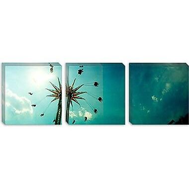 iCanvas Panoramic 'Brooklyn Flyer Ride, Coney Island, Brooklyn' Photographic Print on Canvas
