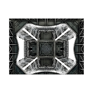 Evive Designs View of the Eiffel Tower from below Photographic Print