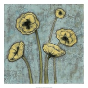 Evive Designs Sun Poppies I by Jennifer Goldberger Painting Print