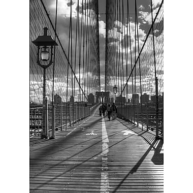 Evive Designs Brooklyn Bridge HDR 1 by Christopher Bliss Photographic Print