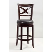 Mochi Furniture 29'' Swivel Bar Stool; Cappuccino