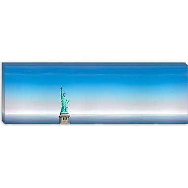 iCanvas Panoramic 'Statue of Liberty, New York City' Photographic Print on Canvas