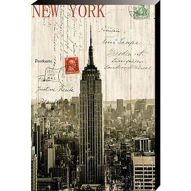 100 Essentials Empire State Building Postcard Graphic Art