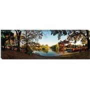 iCanvas Panoramic Urban Park, Central Park, New York City Photographic Print on Canvas
