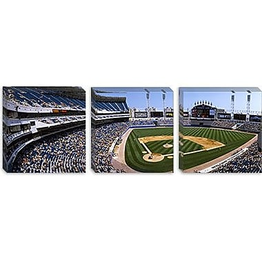 iCanvas Panoramic U.S. Cellular Field Chicago, Illinois Photographic Print on Canvas