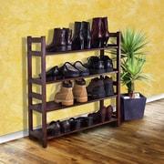 D-Art Collection Veranda 4-Tier 20 Pair Shoe Rack