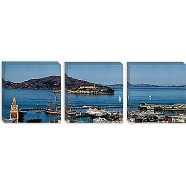 iCanvas Panoramic 'Alcatraz Island, San Francisco, California' Photographic Print on Canvas