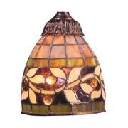 Landmark Lighting English Ivy 6'' Glass Bowl Pendant Shade