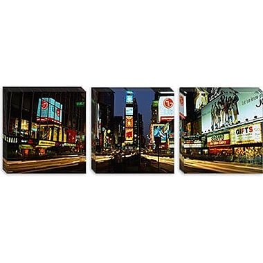 iCanvas Panoramic Times Square, Manhattan, New York City Photographic Print on Canvas