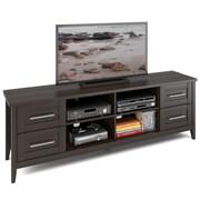 """CorLiving™ Jackson Extra Wide TV Bench For 80"""" TV, Espresso"""