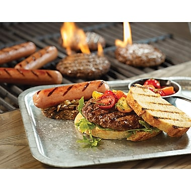 The Picnic Pack Omaha Steaks 16 Gourmet Burgers (5 Oz.) & 16 Gourmet Jumbo Franks (3 Oz.)