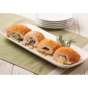 Omaha Steaks 2 Chicken Kiev, 2 Chicken Cordon Bleu, 2 Chicken with Wild Rice & 2 Chicken with Broccoli Cheese (7.75 Oz.)