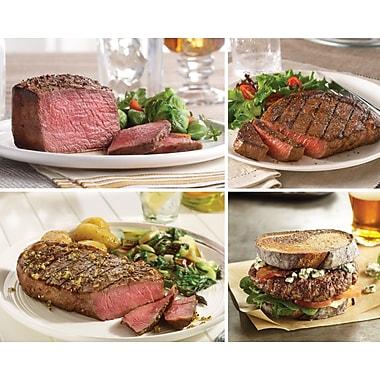 The Fabulous Assortment Omaha Steaks Filet Mignons, Boneless Strips , Filet of Prime Rib & Gourmet Burgers