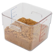 Polycarbonate Space Saving Square Container
