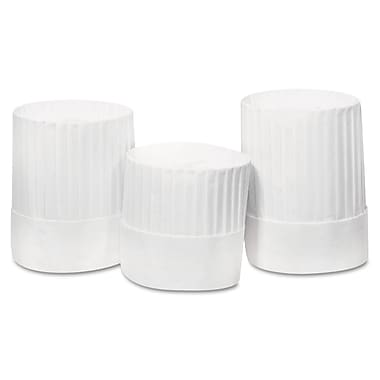 Paper Royal Pleated Chef Hat 24/Case 10