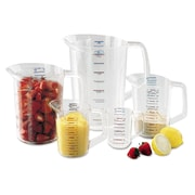 "Plastic Rubbermaid Commercial Products Measuring Cup 0.8"" x 0.5"" x 0.8"""