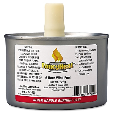 Fancyheat Corp Liquid Chafing Fuel 8 Oz
