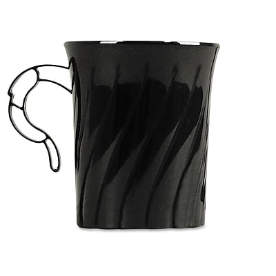 WNA Classicware Plastic Coffee Mugs 8/Pack 8 Oz