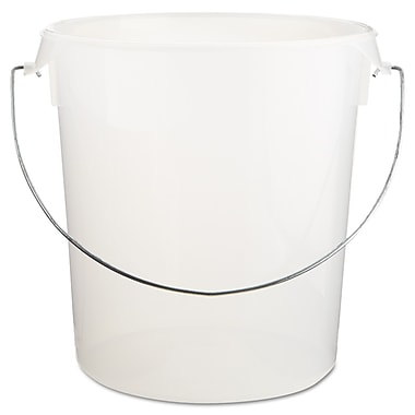 Polypropylene Rubbermaid Round Storage Container With Bail