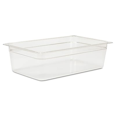 Polycarbonate Full Size Cold Food Pan Clear