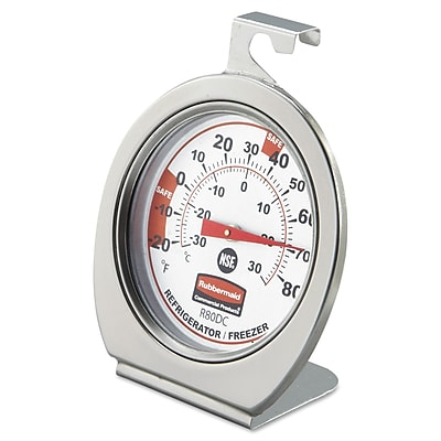 Stainless Steel Plastic Freezer Monitoring Thermometer 967633