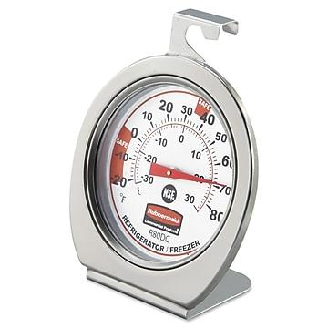 Pelouze Refrigerator/Freezer Monitoring Thermometer,Size: large