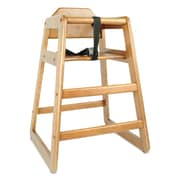 Rubberwood High Chair 29""