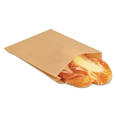 Wax Coated Paper Bagcraft Papercon Ecocraft Grease-resistant Sandwich Bag