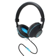 GOgroove AudioLUX OE Stereo Headphones with Noise Isolating Over Ear Design & Handsfree Microphone