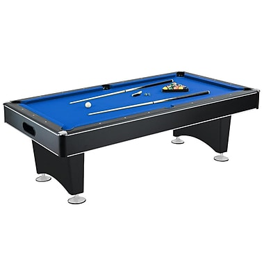 Hathaway™ Hustler 7' Pool Table, Blue