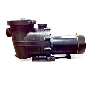 Blue Wave TidalWave 2-Speed 1.5 HP Replacement Pump For A/G Pools, Black